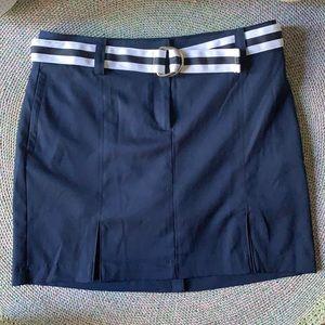 Izod Navy & White Tennis/Golf Skirt/Skort Size 6